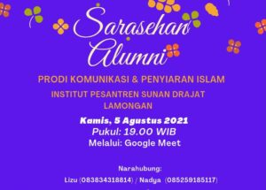 poster sarasehan alumni 2021